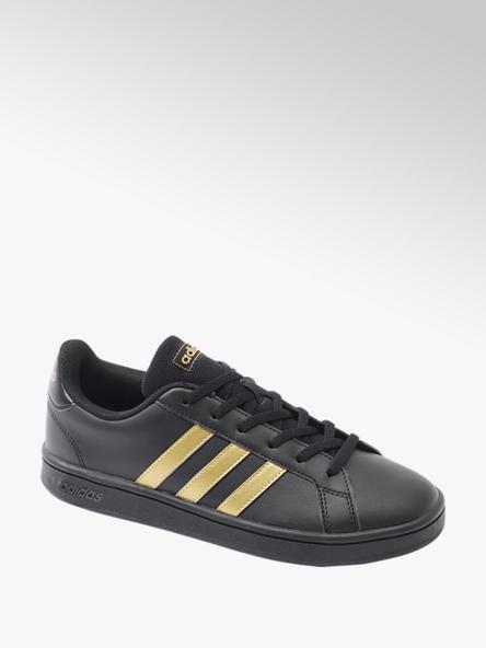 adidas Čierne tenisky Adidas Grand Court Base