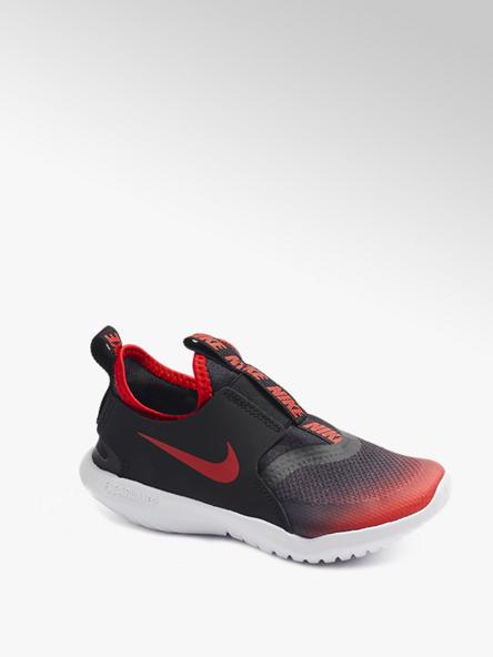 NIKE Čierno-červené slip-on tenisky Nike Flex Runner