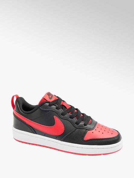 NIKE Čierno-červené tenisky Nike Court Borough 2