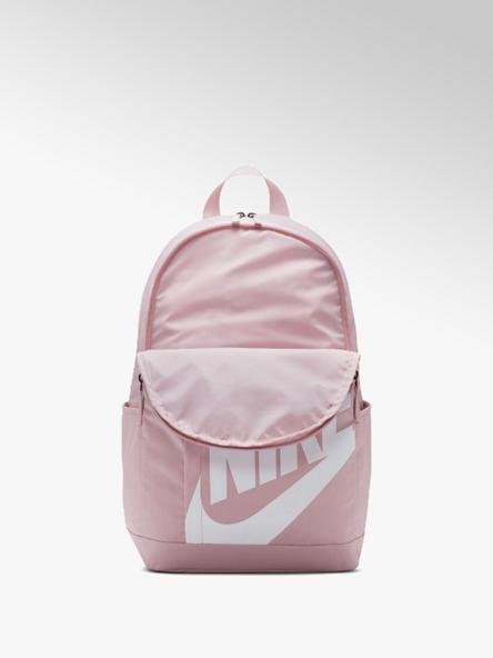 NIKE jasnoróżowy plecak damski Nike z białym logo