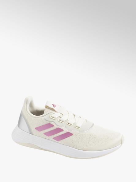 adidas kremowo-różowe sneakersy damskie adidas QT RACER SPORT