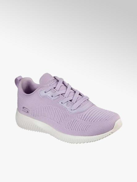 Skechers liliowe sneakersy damskie Skechers Bobs Squad