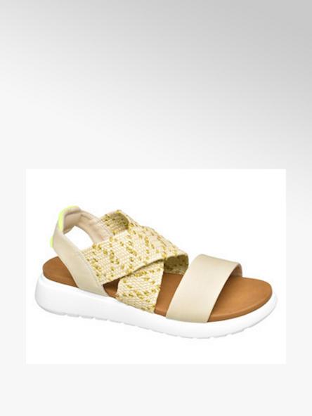 Graceland Žlto-béžové sandále Graceland