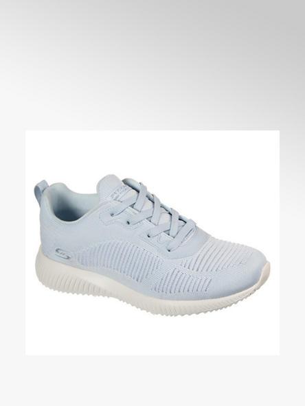 Skechers niebieskie sneakersy damskie Skechers Bobs Squad