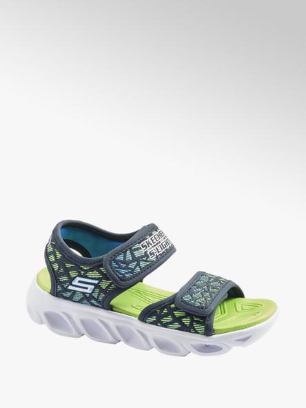 Skechers niebiesko-zielone sandały chłopięce Skechers