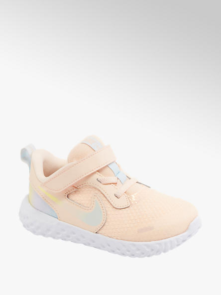NIKE pastelowe sneakers dziewczęce NIKE REVOLUTION 5
