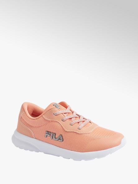 Fila pomarańczowe sneakersy dziewczęce Fila