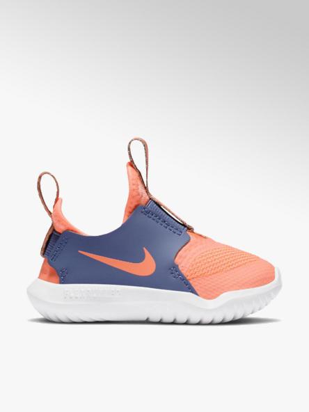 NIKE pomarańczowo-niebieskie sneakersy dziecięce Nike Flex Runner