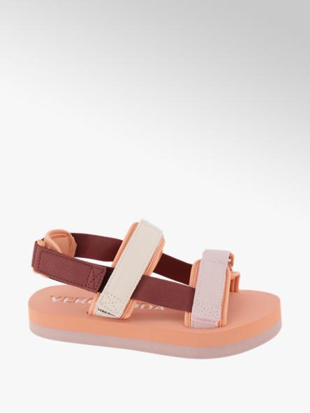 Vero Moda pomarańczowo-różowe sandały damskie Vero Moda