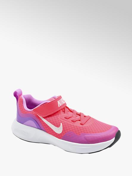 NIKE różowo-fioletowe sneakersy dziewczęce Nike Wear All Day