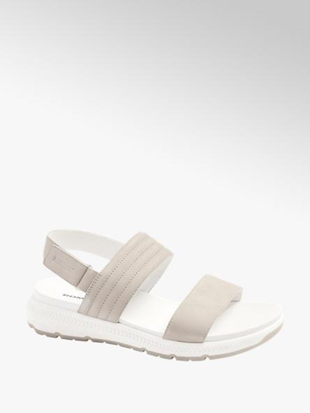 Romika szaro-białe sandały damskie Romika