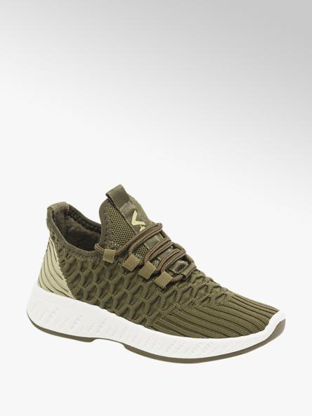 Vty zielone sneakersy dzieciece Vty na lekkiej podeszwie