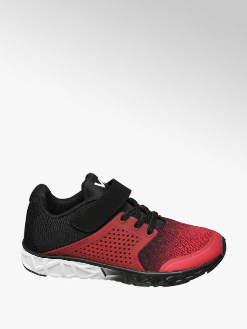 Rode lightweight sneaker klittenbandsluiting