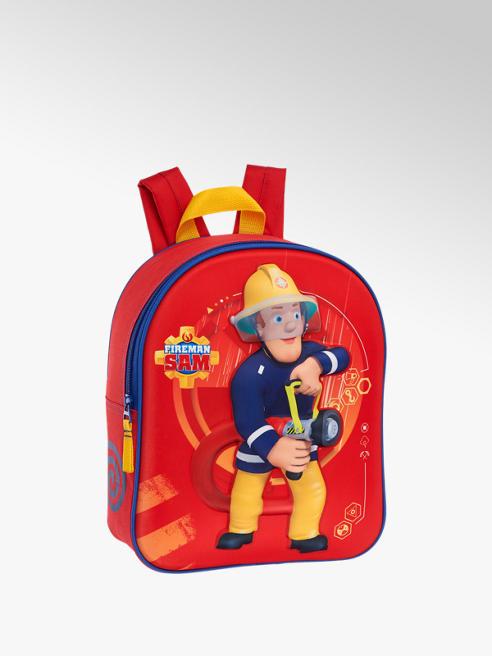 Rode rugzak Brandweerman Sam