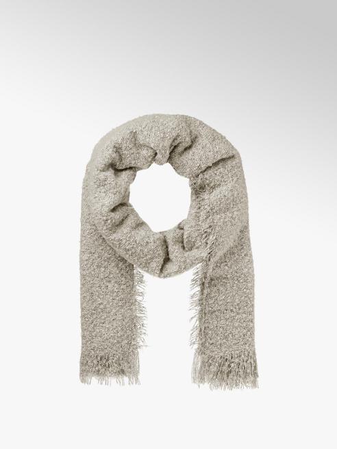 Schal in Grau