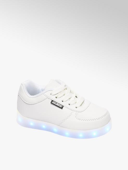 Witte sneaker LED