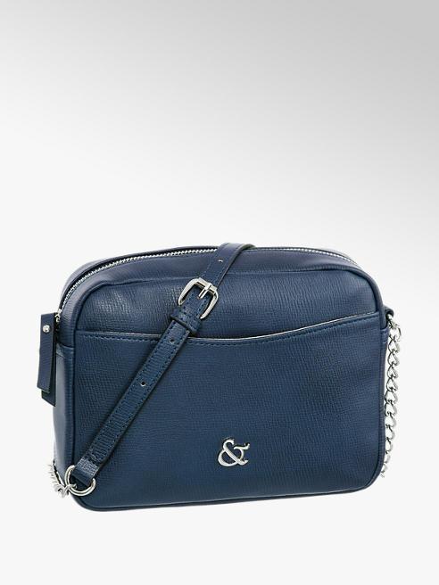 Graceland Дамска синя чанта Graceland