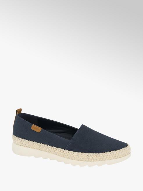 Esprit Donkerblauwe loafer canvas