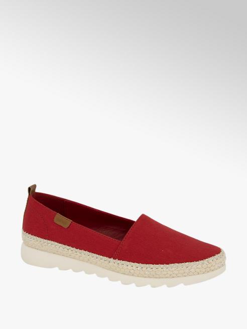 Esprit Rode loafer canvas