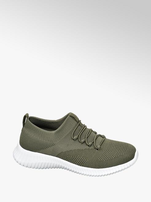 Venice Groene slip-on sneaker