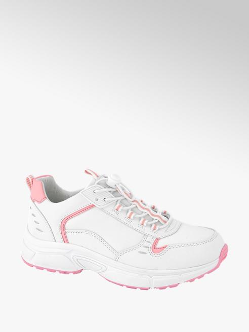 Graceland Witte chunky sneaker neon