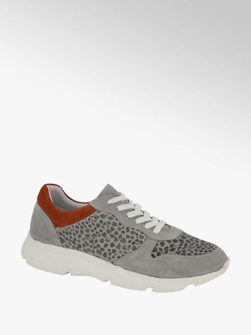 5th Avenue Leren grijze sneaker