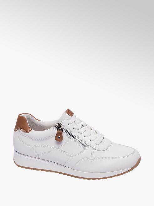 Medicus Witte leren sneaker