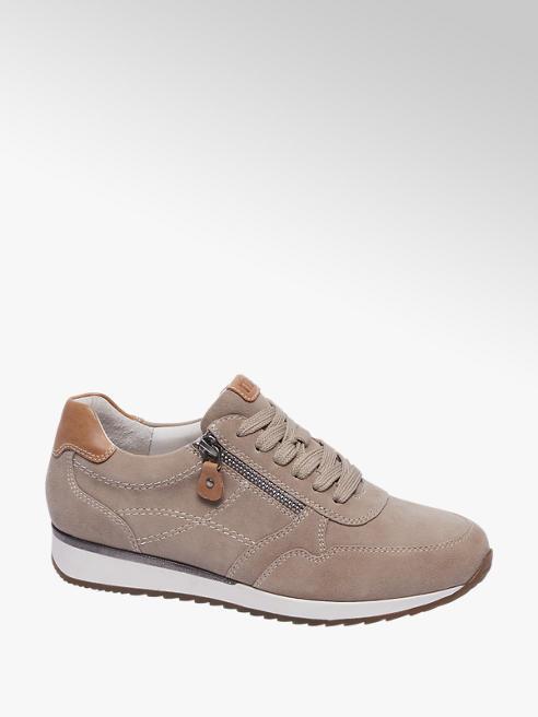 Medicus Beige leren sneaker