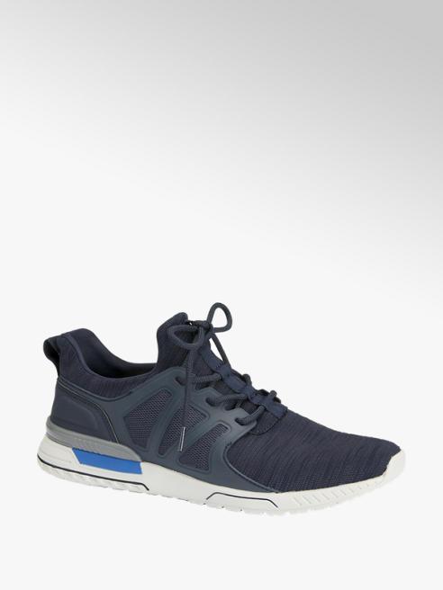 Venice Blauwe lightweight vetersneaker