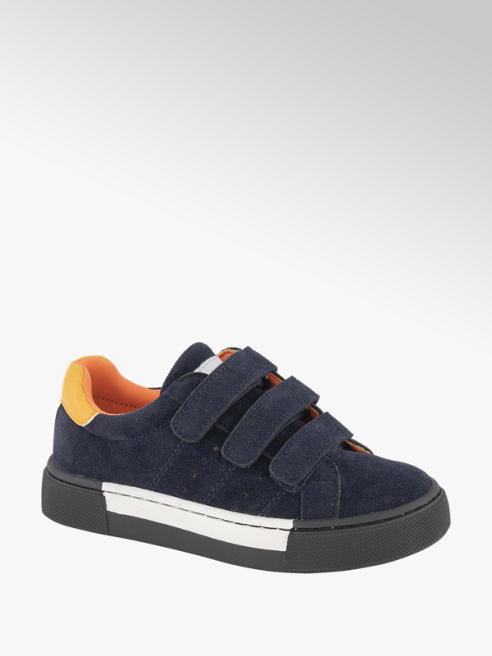 Vty Blauwe sneaker klittenband