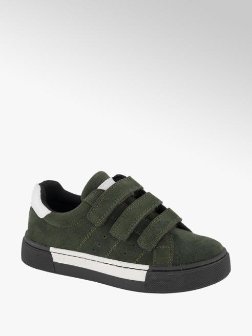 Vty Groene sneaker klittenband