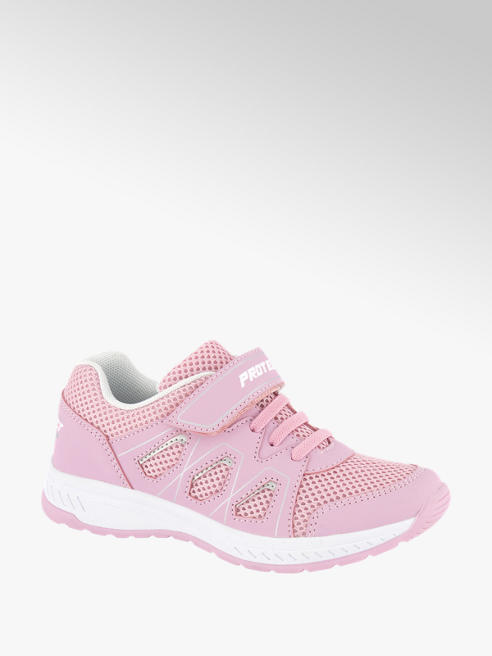 Graceland Roze sneaker elastische veter
