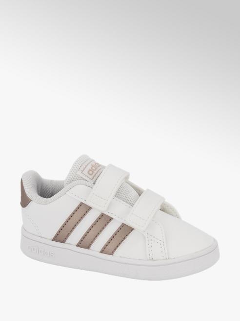 adidas Witte Grand Court klittenband