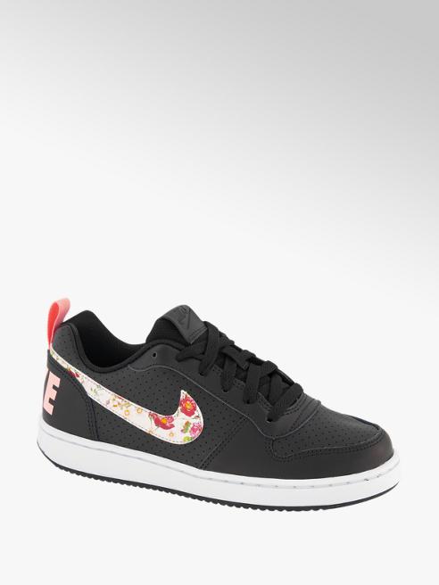 Nike Zwarte Court Borough Low