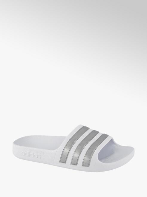adidas Witte Adilette Aqua
