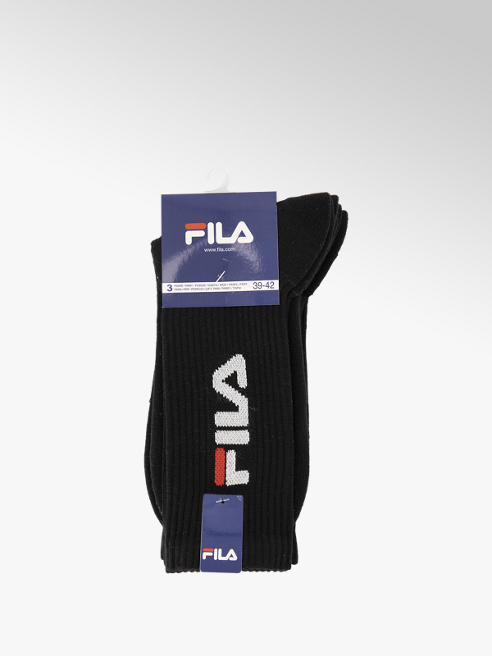 Fila Zwarte Unique Urban herensokken