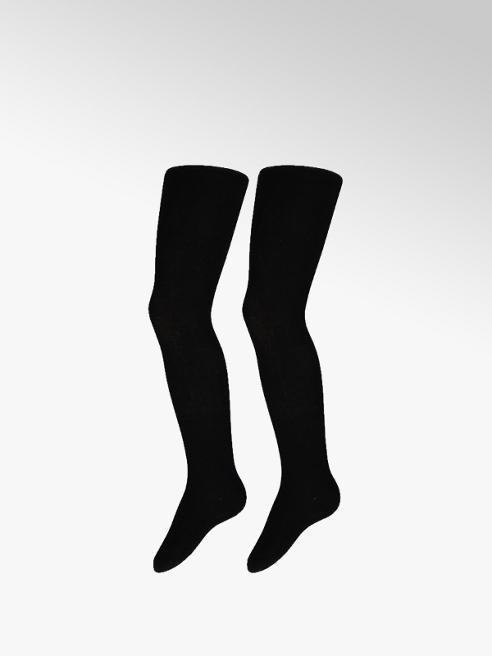 Zwarte maillots 2 pak mt 92-146