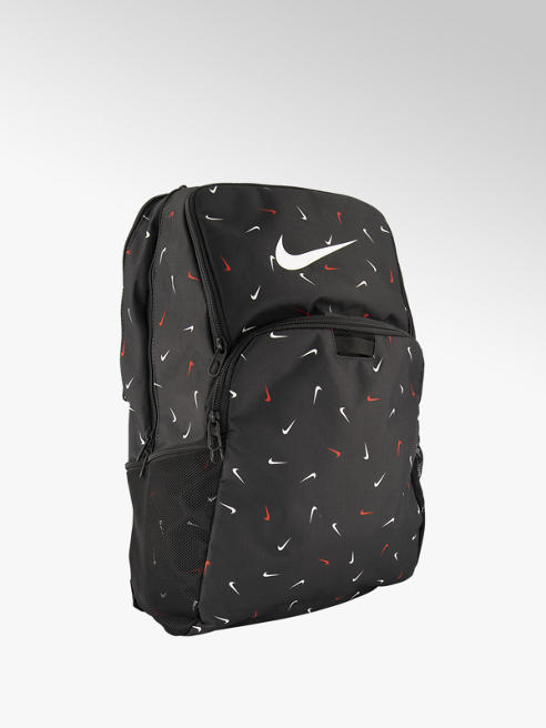 Nike Zwarte rugtas rode details