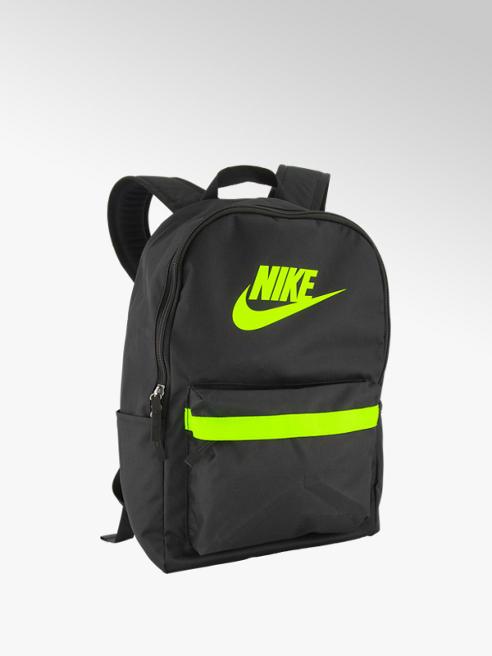 Nike Zwarte rugtas neon