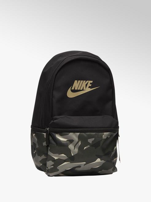 Nike Zwart/olijfgroene rugtas