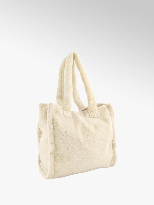 Graceland Off white shopper teddy