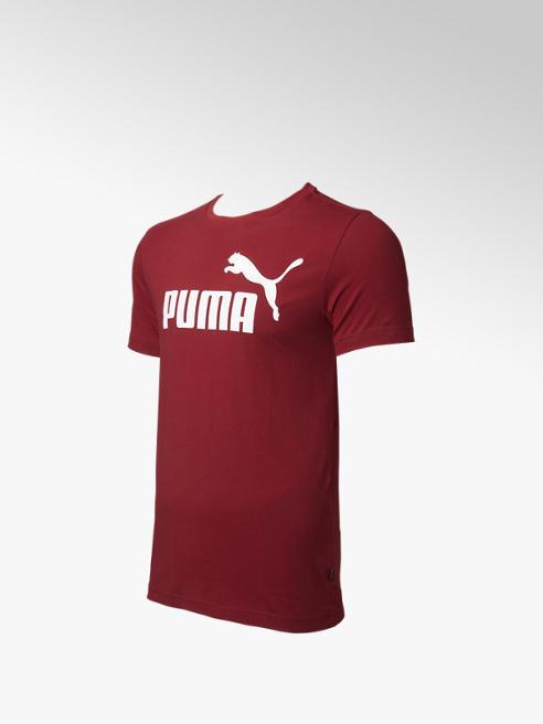 Puma Rode ESS Logo Tee - Heren