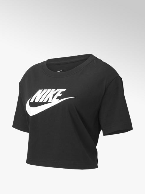 Nike Zwarte Nsw Tee Essential Crop - Dames