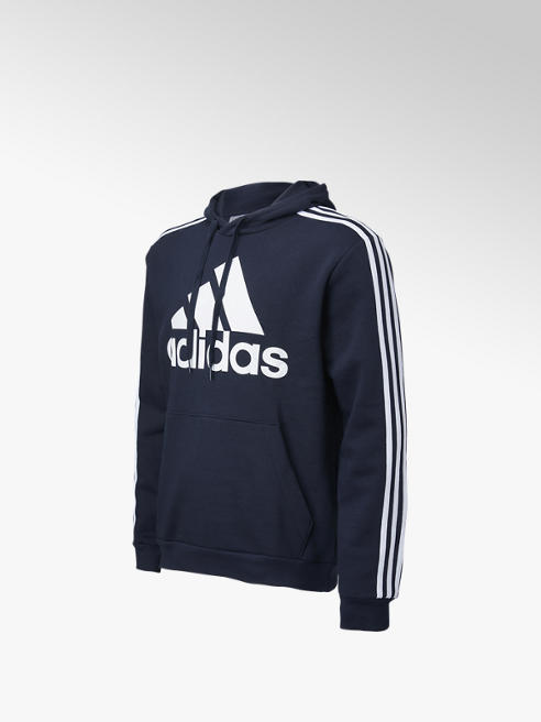 adidas Donkerblauwe BL3S FL Hoodie - Heren
