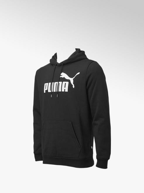 Puma Zwarte Ess Big Logo Hoodie FL - Heren