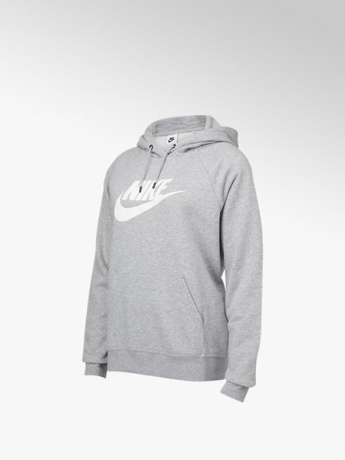 Nike Grijze Nsw Essential Fleece GX Hoodie - Dames