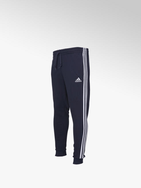 adidas Donkerblauwe 3S FL F Pants - Heren