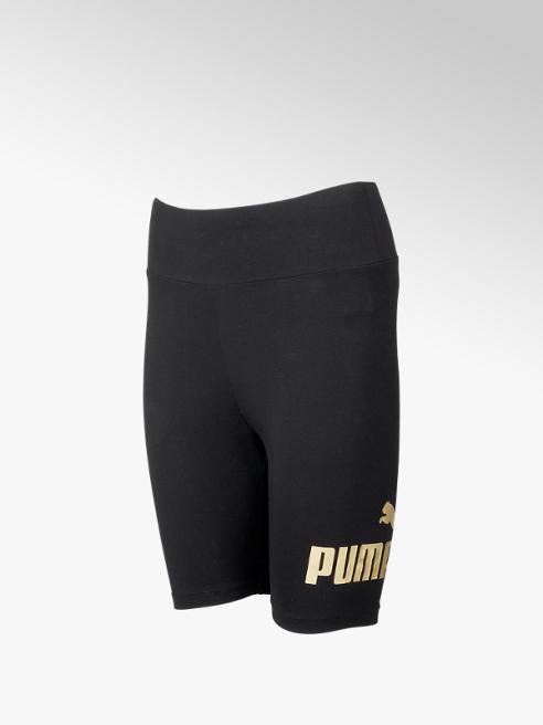 Puma Zwarte ESS+ Metallic Short Legging