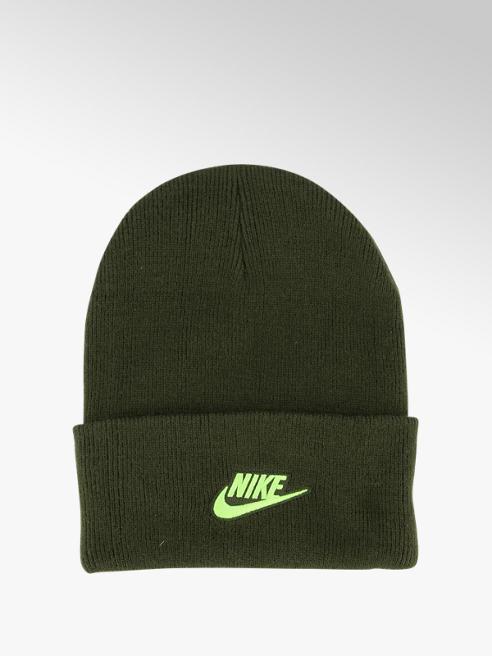 Nike Donkergroene beanie