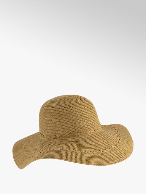 Graceland Beige rieten hoed